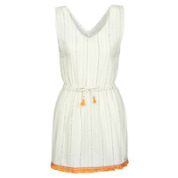 Vêtements Femme Robes courtes Banana Moon MARZUL MANDALO Blanc / Orange