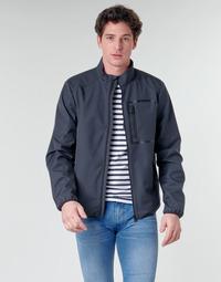 Vêtements Homme Blousons Geox OTTAYA JKT Marine / Noir