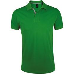 Vêtements Homme Polos manches courtes Sols PORTLAND MODERN SPORT Verde