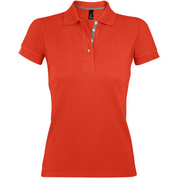 Vêtements Femme Polos manches courtes Sols PORTLAND MODERN SPORT Naranja