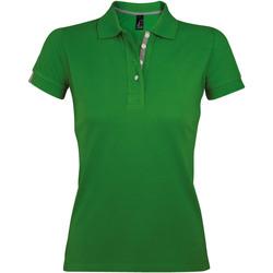Vêtements Femme Polos manches courtes Sols PORTLAND MODERN SPORT Verde