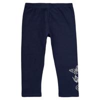 Vêtements Fille Leggings Desigual PLATON Marine