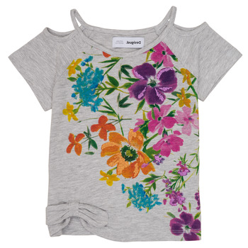 Vêtements Fille T-shirts manches courtes Desigual EDIMBURGO Multicolore