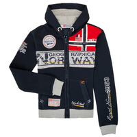 Vêtements Garçon Sweats Geographical Norway FLYER Marine