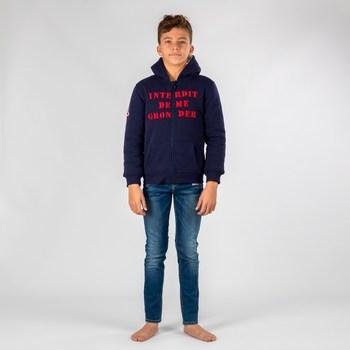 Vêtements Garçon Sweats Interdit De Me Gronder NAVIRA Bleu marine