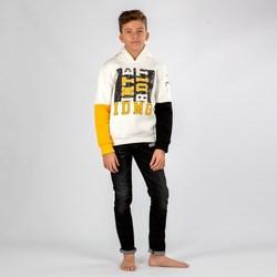 Vêtements Garçon Sweats Interdit De Me Gronder KID Blanc