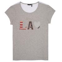 Vêtements Fille T-shirts manches courtes Ikks ZOKO Gris