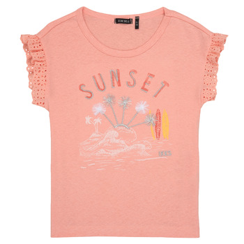 Vêtements Fille T-shirts manches courtes Ikks POLIAK Orange