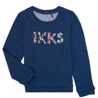 Vêtements Fille Sweats Ikks NELSY Marine
