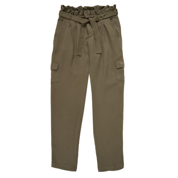 Vêtements Fille Pantalons fluides / Sarouels Ikks ELIE Kaki