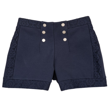 Vêtements Fille Shorts / Bermudas Ikks SOLISSO Marine