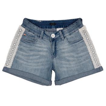 Vêtements Fille Shorts / Bermudas Ikks ISAHA Bleu