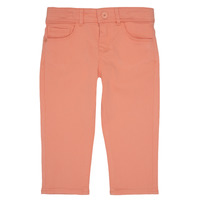 Vêtements Fille Pantalons 5 poches Ikks CARLOTTA Orange