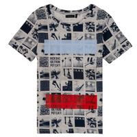 Vêtements Garçon T-shirts manches courtes Ikks JULIEN Beige