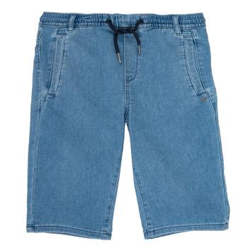 Vêtements Garçon Shorts / Bermudas Ikks PAGALI Bleu