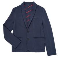 Vêtements Garçon Vestes / Blazers Ikks NARIA Marine