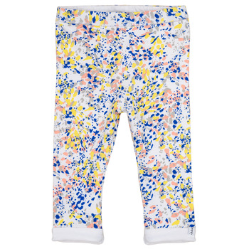 Vêtements Fille Leggings Ikks ELIES Blanc / Multicolore