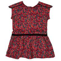 Vêtements Fille Robes courtes Ikks MAGGIE Gris / Rouge