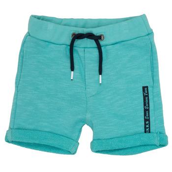 Vêtements Garçon Shorts / Bermudas Ikks POLEMAN Turquoise