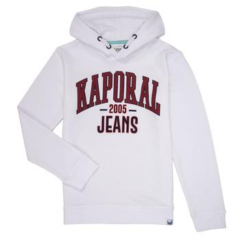 Vêtements Garçon Sweats Kaporal EDER Blanc
