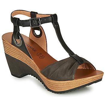 Chaussures Femme Sandales et Nu-pieds Chattawak JENNY Noir