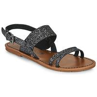 Chaussures Femme Sandales et Nu-pieds Chattawak MONIA Noir