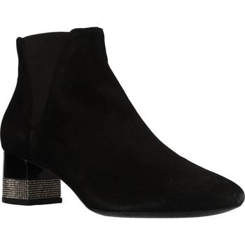 Chaussures Femme Bottines Geox D CHLOO HIGH Noir