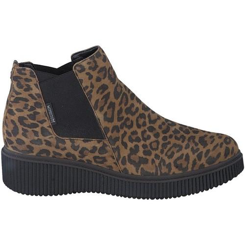 Chaussures Boots Mephisto Bottine velours EMIE Marron