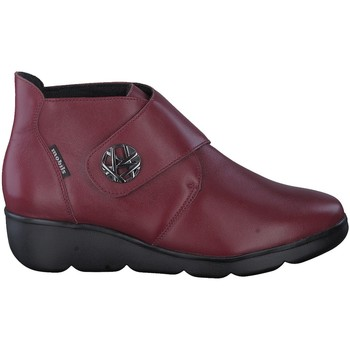 Chaussures Boots Mephisto Bottine cuir lisse GALINA Rouge