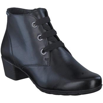 Chaussures Femme Bottines Mephisto Bottine cuir ISABELLE Noir