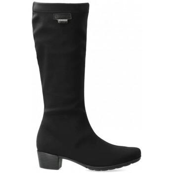 Chaussures Femme Bottes ville Mephisto Botte ISSA GT noir Noir