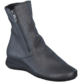 Chaussures Femme Boots Mephisto Bottine cuir NESSIA Gris