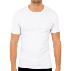Sous-vêtements Homme Maillots de corps Abanderado Pack-3 t-shirts m / c hiver blanc Blanc