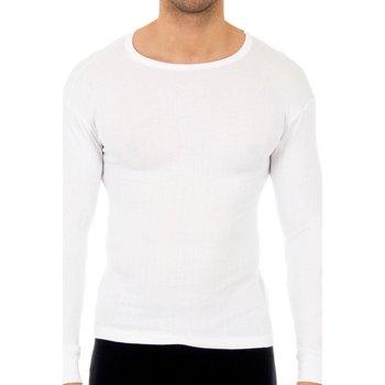 Sous-vêtements Homme Maillots de corps Abanderado Pack-3 chemises de coton m.larga Blanc