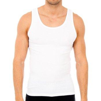 Sous-vêtements Homme Maillots de corps Abanderado Pack-6 débardeurs homme Blanc