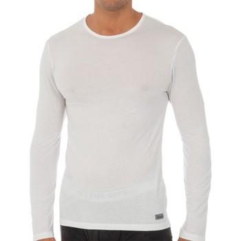 Sous-vêtements Homme Maillots de corps Abanderado T-shirt technique à long terme Blanc