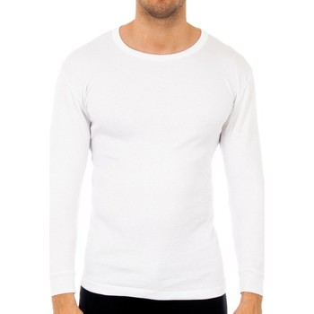 Sous-vêtements Homme Maillots de corps Abanderado Pack 3-shirts en fibre m / l blanc Blanc