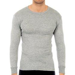 Sous-vêtements Homme Maillots de corps Abanderado Pack-3 t-shirts en fibre grise M / L Gris