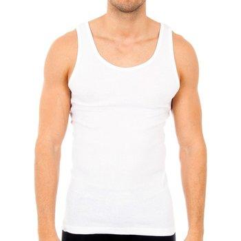 Sous-vêtements Homme Maillots de corps Abanderado Pack-6 chemises blanches sans bretelles Blanc