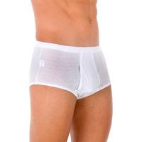 Sous-vêtements Homme Caleçons Abanderado Briefs 6 Pack-chevalier blanc Blanc