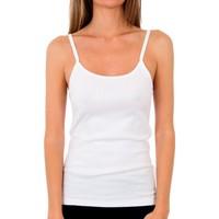 Sous-vêtements Femme Maillots de corps Abanderado Pack 3 T-shirt blanc trt pr.liberty Blanc