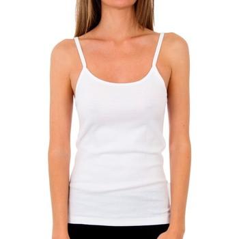 Sous-vêtements Femme Maillots de corps Abanderado Pack 3 T pr. TRT liberté blanc Blanc