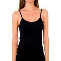 Sous-vêtements Femme Maillots de corps Abanderado Pack 3 T-shirt pr. liberty trt noir Noir