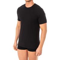 Sous-vêtements Homme Maillots de corps Abanderado Camistea X-Temp m / corta Noir