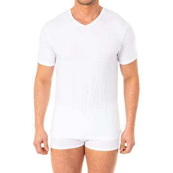 Sous-vêtements Homme Maillots de corps Abanderado Camistea X-Temp m / corta Blanc