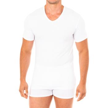Sous-vêtements Homme Maillots de corps Abanderado T-shirt avancé à manches courtes Blanc