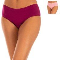 Sous-vêtements Femme Culottes & slips DIM Lot de 2 culottes en coton. Faible Multicolore