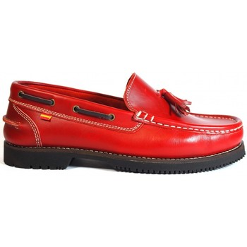 Chaussures Femme Mocassins La Valenciana Zapatos Apache  Montijo Rojo rouge