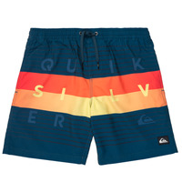 Vêtements Garçon Maillots / Shorts de bain Quiksilver WORD BLOCK VOLLEY YOUTH Bleu