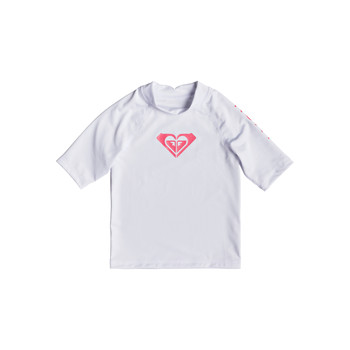 Sous-vêtements Fille Maillots de corps Roxy WHOLE HEARTED LS BRIGHT WHITE